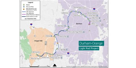 durham orange light rail durham orange light rail project receives fta approval