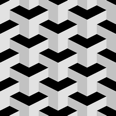 psd pattern shapes create a seamless 3d geometric pattern in photoshop