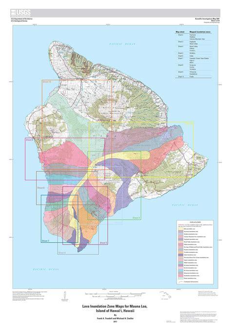 Worlds Lava L by Hawaii Lava Flow Map Air Flight Map