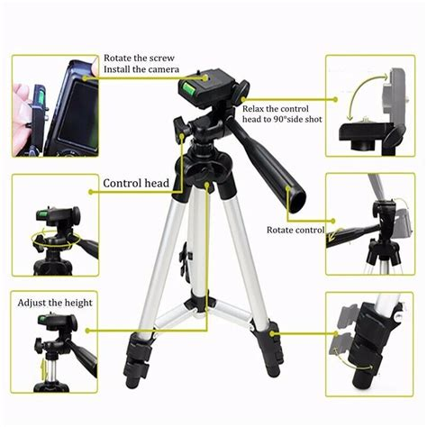adjustable tripod mount stand holder for iphone x xs max samsung s9 au ebay
