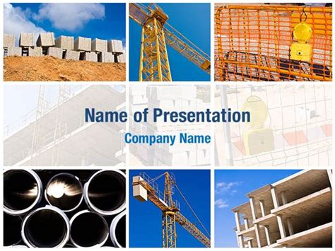construction powerpoint template construction powerpoint templates construction
