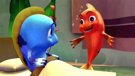 kartun anak lucu banget ikan lumba kecil menggemaskan