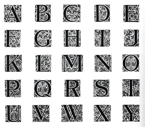 printable illuminated alphabet search results for illuminated letters printable