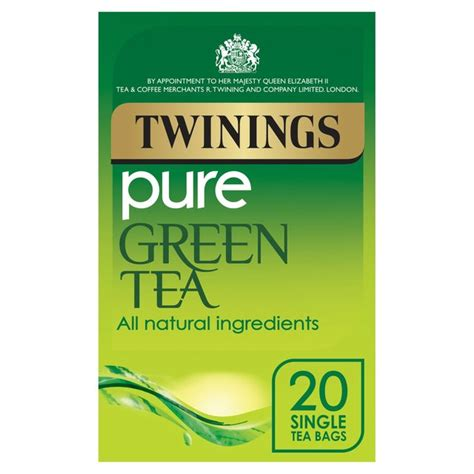 A Tastetea Reminder And Free Tea Offer by Twinings Green Tea 20 Per Pack From Ocado