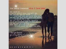 The many reasons why I love you - Graphics, quotes ... Instagram Quotes About Love