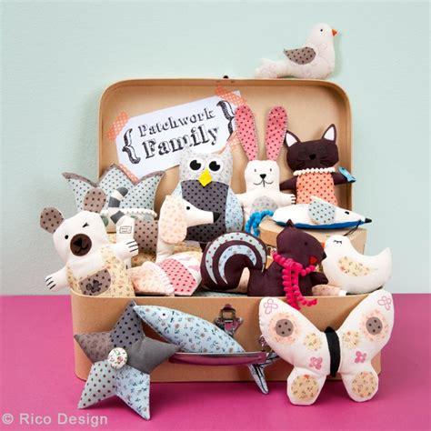 Patchwork Stuffed Animals - patchwork family bird
