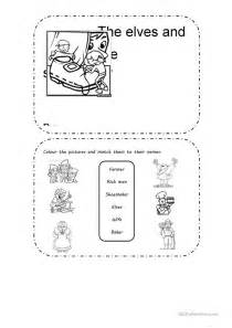 activities based on the elves and the shoemaker worksheet