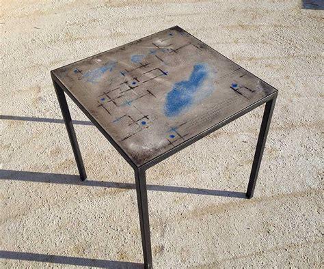 tavoli in cemento tavolo cemento 70x70 testadilegno