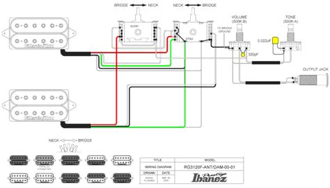 ibanez wiring diagram seymour duncan image collections