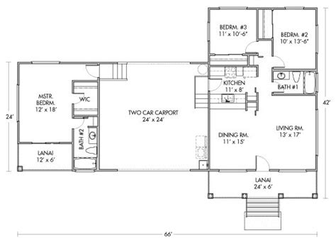 Hpm Kamole Packaged Home Floorplan House Plans Hpm House Plans