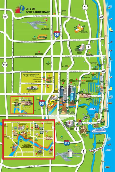 fort lauderdale map water taxi fort lauderdale map adriftskateshop