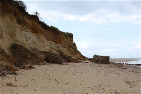 BBC   In pictures: Thorpeness coastal erosion threatens homes