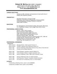 respiratory therapy resume sles resume teaching experience skill section resume resume for