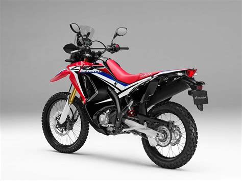 honda crf250l rally finally debuts