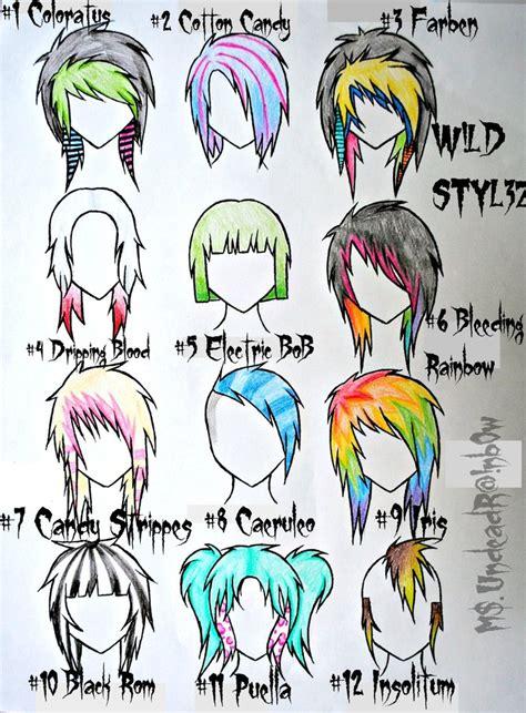 girl hairstyles deviantart wild styles part 3 by rainb0w rand0m de on deviantart