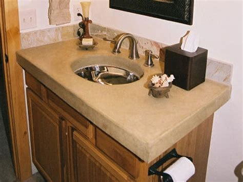 diy bathroom countertop ideas diy bathroom concrete countertop bathroom beauties