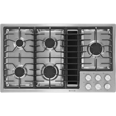 36 Gas Cooktop With Downdraft 36 quot jx3 gas downdraft cooktop jenn air