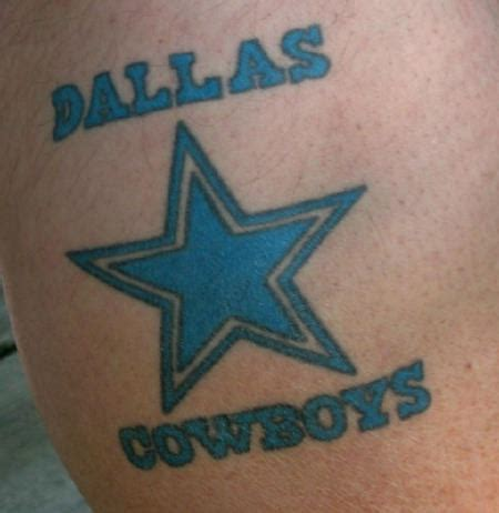 dallas cowboys star tattoo designs dallas cowboys tattoos gallery