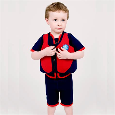 zwemvest splash about 11 18 kg splash about float jacket red with navy zwemvesten nl