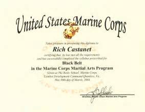 Usmc Certificate Of Commendation Template by Uechi Ryu View Topic The Usmc Ubbc