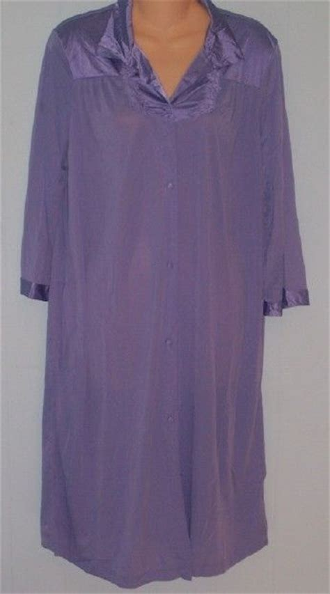 vanity fair robes vanity fair coloratura robe purple 1x ebay