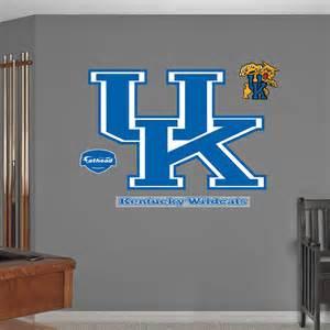 University Of Kentucky Home Decor by Kentucky Wildcats Logo Wall Decal Shop Fathead 174 For