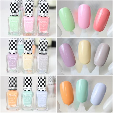 barry m speedy nail paint collection in may bloglovin