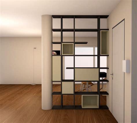 pareti ingresso parete divisoria in un loft interior design project