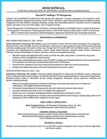 Auditor Resume by A Concise Credential Audit Resume