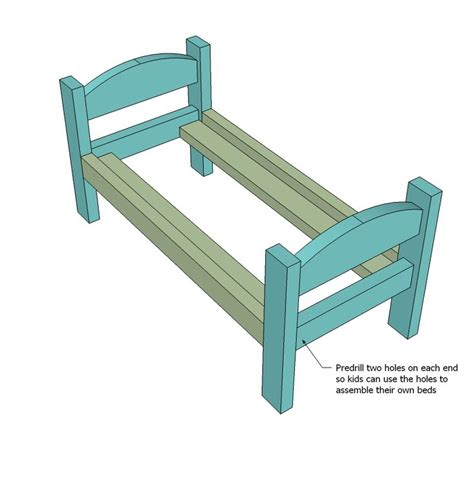 doll bed plans kid s kit 18 quot ag doll bed plans scrollsaw pinterest