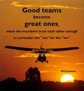 Teamwork phil jackson and teamwork quotes on pinterest