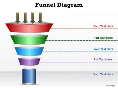 powerpoint funnel diagram pin sales funnel diagram on