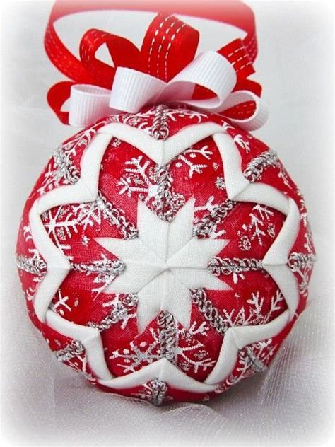 25 best ideas about quilted ornaments on