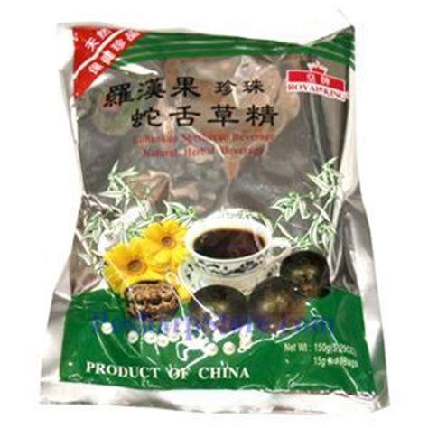 Beverage Of Lohankuo Zhenzhu She She Cao 3 royal king instant lohankuo sheshecao tea