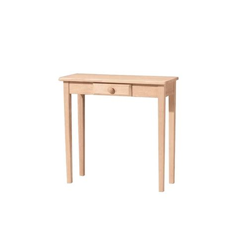 Unfinished Console Table by International Concepts Unfinished Storage Console Table Ot