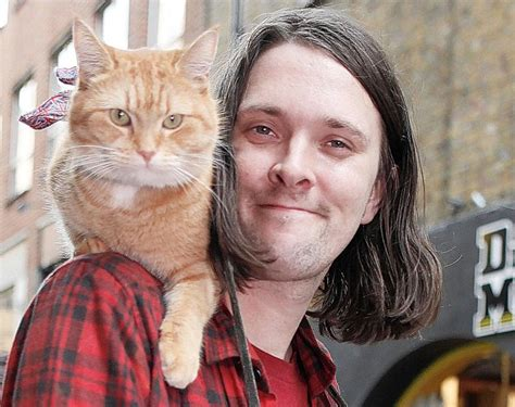 james bowen best selling true story of busker who got his how bob the cat sparked affair between a 56 year old