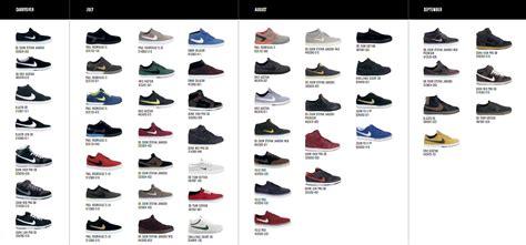 shoes catalog nike sb catalog april september my and kicks