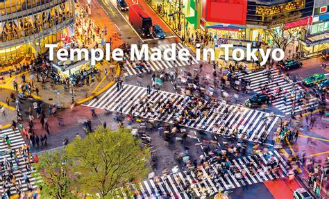 Temple Tokyo Mba by Temple Made In Tokyo A Showing A Day In The