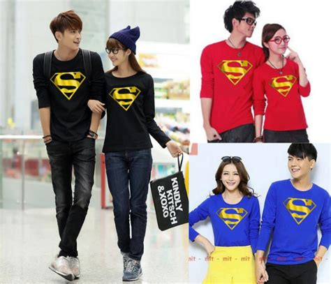 Kaos Superman Foil Gold riany collection s mojoagung jombang kaos lengan