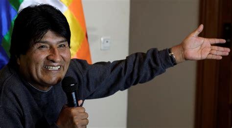 Morales Fuego maduro y morales aplauden el acuerdo de alto el fuego