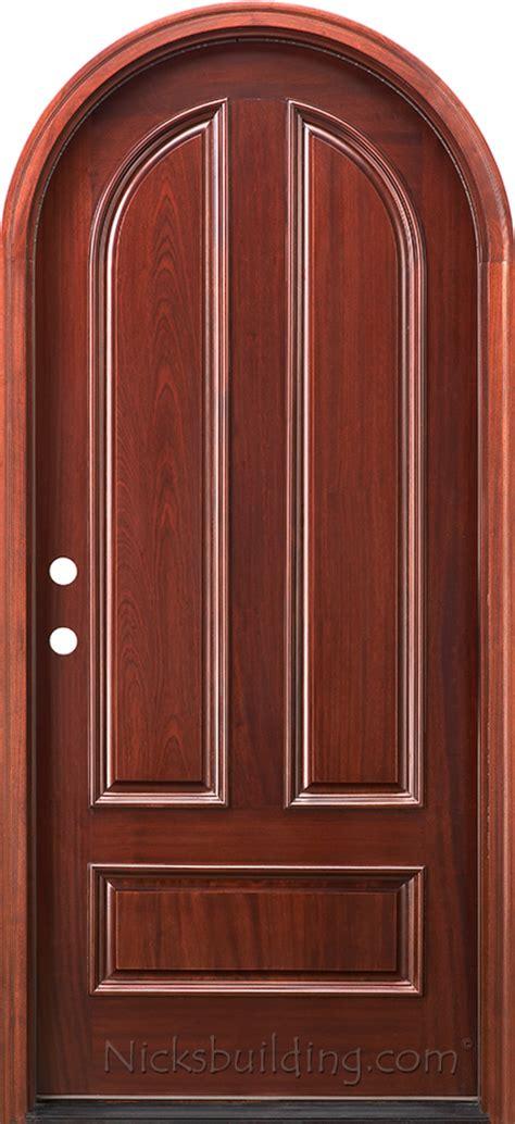 top exterior doors arched top exterior mahogany doors