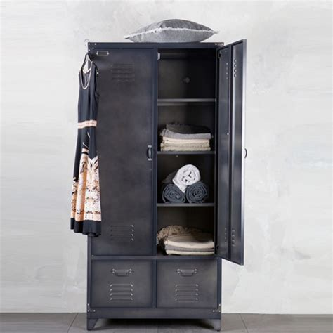 Armoire Metal by Armoire Casier M 233 Tal Noir 1 Penderie 3 233 Tag 232 Res 2 Tiroirs