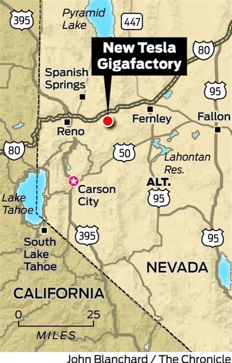 Tesla Gigafactory Nevada Tesla Expected To Bypass California For Gigafactory In