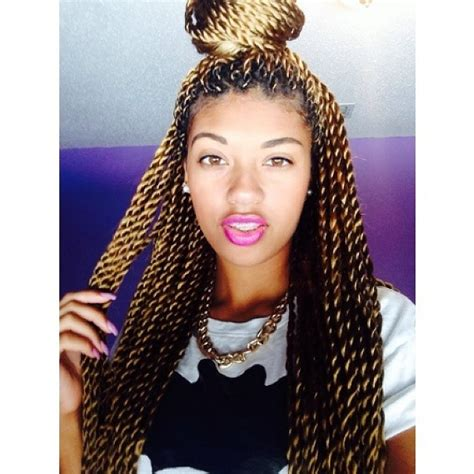 senegalese twist with brown in the front and black in the back black hair trend senegalese twists
