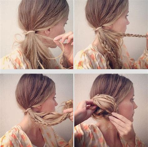 braided hairstyles with side bun easy bun hairstyle tutorials for the summers top 10