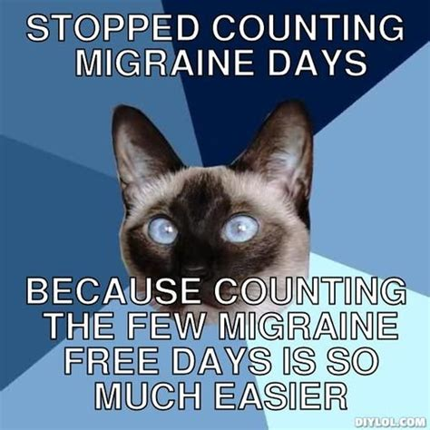 Migraine Meme - 17 best ideas about headache humor on pinterest chronic