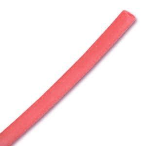 Rantai Leher 3mm X 50 Cm cordon en plastique creux 3 mm cerise x 50 cm perles co