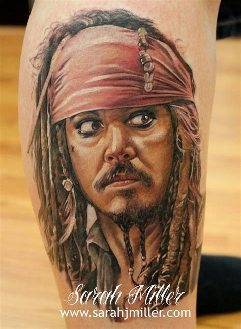 captain jacks tattoo 13 captain sparrow tattoos tattoodo