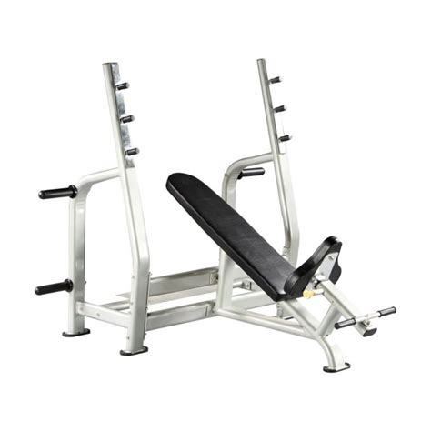 olympic incline bench press hs026 olympic incline bench press viva fitness
