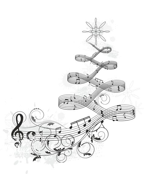 musical notes christmas tree image what s your part small and simple truths